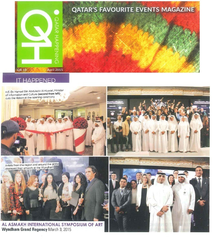 Qatar Happening Magazine - April Issue 2015 (3)
